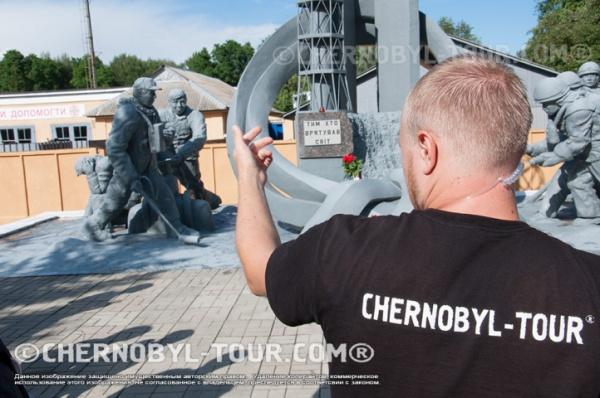 В столовой Припять в Чернобыле